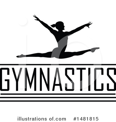 Gymnastics Clipart #1481815 by Johnny Sajem