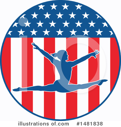 Gymnastics Clipart #1481838 by Johnny Sajem