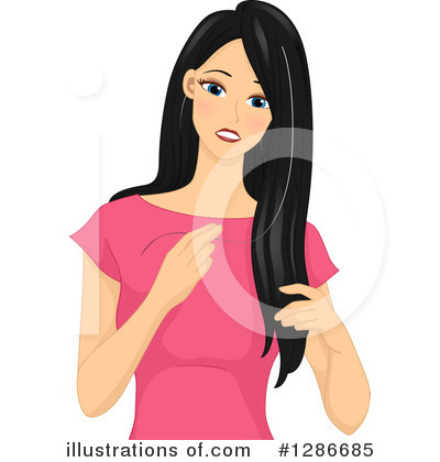 Hair Care Clipart #1286685 by BNP Design Studio