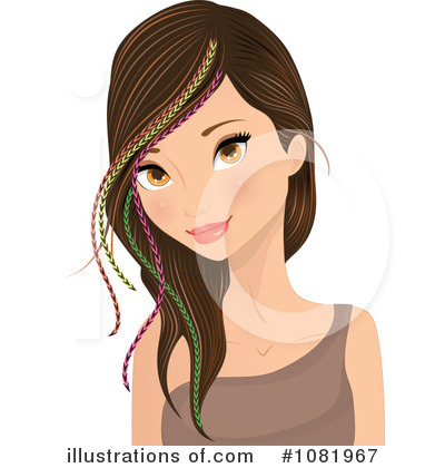 Woman Clipart #1081967 by Melisende Vector
