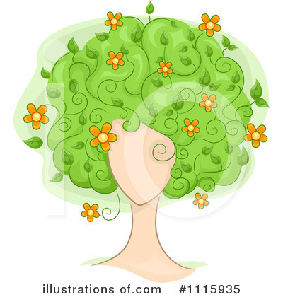 Tree Clipart #1115935 by BNP Design Studio