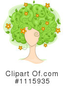 Hair Clipart #1115935 by BNP Design Studio