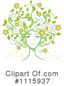 Hair Clipart #1115937 by BNP Design Studio