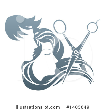 Barber Clipart #1403649 by AtStockIllustration