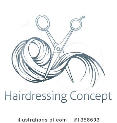 Haircut Clipart #1358693 by AtStockIllustration
