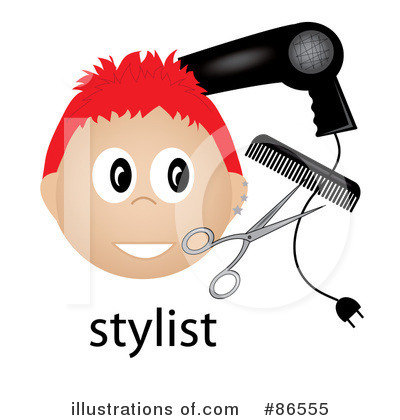 Hair Stylist Clipart #86555 by Pams Clipart