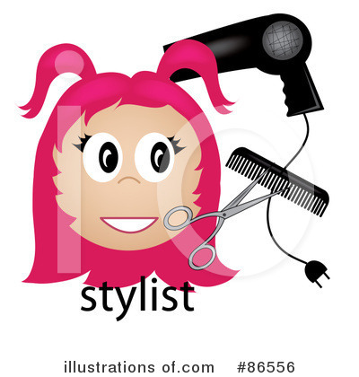 Hair Stylist Clipart #86556 by Pams Clipart