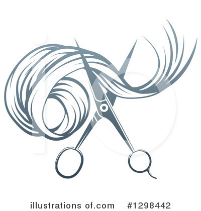 Barber Clipart #1298442 by AtStockIllustration