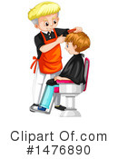 Haircut Clipart #1476890 by Graphics RF