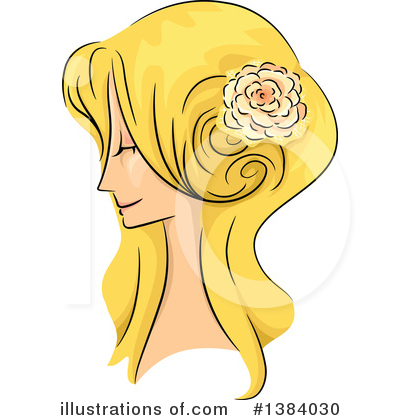 Hairstyle Clipart #1384030 by BNP Design Studio