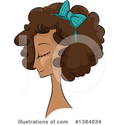 Hairstyle Clipart #1384034 by BNP Design Studio