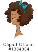 Royalty-Free (RF) Hairstyle Clipart Illustration #1384034