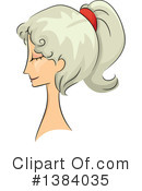 Hairstyle Clipart #1384035