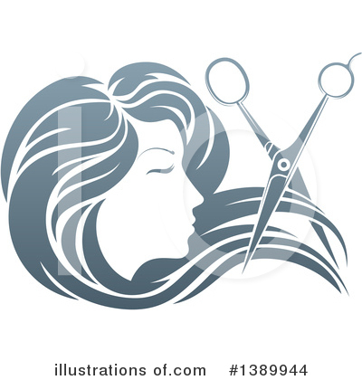 Haircut Clipart #1389944 by AtStockIllustration