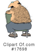 Royalty-Free (RF) Hairy Clipart Illustration #17698