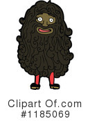 Hairy Man Clipart #1185069 by lineartestpilot