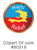 Royalty-Free (RF) Haiti Clipart Illustration #90319