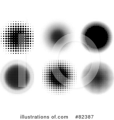 Royalty-Free (RF) Halftone Clipart Illustration by KJ Pargeter - Stock Sample #82387