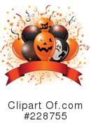 Halloween Balloons Clipart #228755 by Pushkin