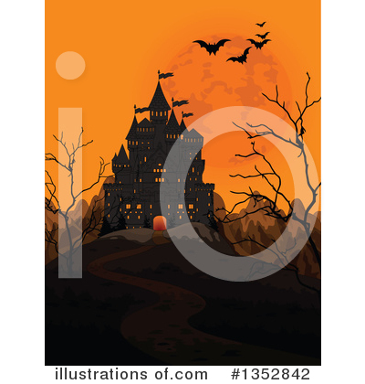 Castle Clipart #1352842 by Pushkin