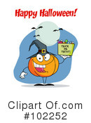 Halloween Clipart #102252 by Hit Toon