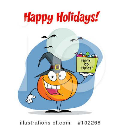 Pumpkin Clipart #102268 by Hit Toon