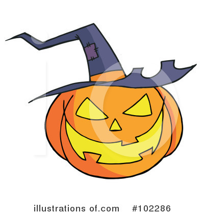 Halloween Pumpkin Clipart #102286 by Hit Toon