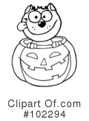 Halloween Clipart #102294 by Hit Toon