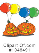 Halloween Clipart #1046491 by toonaday