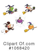 Royalty-Free (RF) Halloween Clipart Illustration #1068420