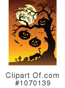 Halloween Clipart #1070139 by visekart