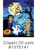 Halloween Clipart #1070141 by visekart