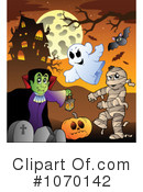 Halloween Clipart #1070142 by visekart