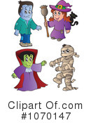 Halloween Clipart #1070147 by visekart