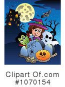Halloween Clipart #1070154 by visekart