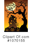 Halloween Clipart #1070155 by visekart