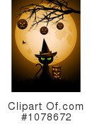 Royalty-Free (RF) Halloween Clipart Illustration #1078672