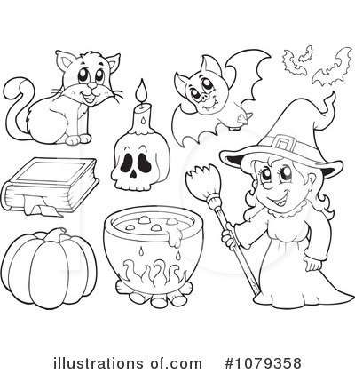 Spell Book Clipart #1079358 by visekart