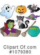 Halloween Clipart #1079380 by visekart