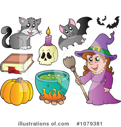 Spell Book Clipart #1079381 by visekart