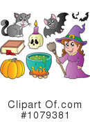 Halloween Clipart #1079381 by visekart