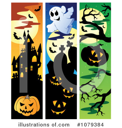 Haunted House Clipart #1079384 by visekart