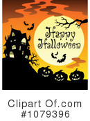 Halloween Clipart #1079396 by visekart