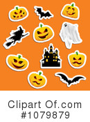 Royalty-Free (RF) Halloween Clipart Illustration #1079879