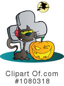 Royalty-Free (RF) Halloween Clipart Illustration #1080318
