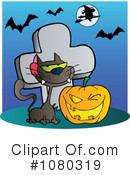 Royalty-Free (RF) Halloween Clipart Illustration #1080319