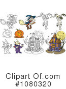Halloween Clipart #1080320 by Frisko