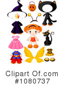 Royalty-Free (RF) Halloween Clipart Illustration #1080737