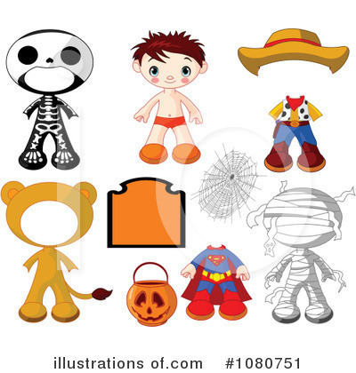 Skeleton Clipart #1080751 by Pushkin
