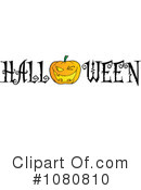 Royalty-Free (RF) Halloween Clipart Illustration #1080810